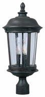 Maxim 40091CDBZ Dover VX Traditional Bronze 21  Tall Outdoor Post Lamp