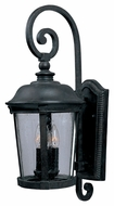 Maxim 40094CDBZ Dover VX Traditional Bronze 10  Wide Exterior Wall Sconce Light