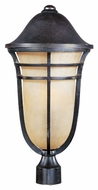 Maxim 40100MCAT Westport VX Artesian Bronze 10.25  Wide Exterior Post Lighting