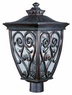 Maxim 40120CDOB Newbury VX Mediterranean Oriental Bronze 21.5  Tall Outdoor Post Lighting
