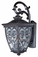 Maxim 40123CDOB Newbury VX Mediterranean Oriental Bronze 18  Tall Outdoor Lighting Wall Sconce