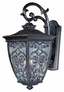 Maxim 40125CDOB Newbury VX Mediterranean Oriental Bronze 25  Tall Outdoor Wall Sconce Lighting