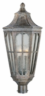 Maxim 40150CDSE Beacon Hill VX Traditional Sienna 24.5  Tall Outdoor Post Light Fixture