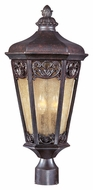 Maxim 40170NSCU Lexington VX Traditional Colonial Umber 24  Tall Outdoor Post Light