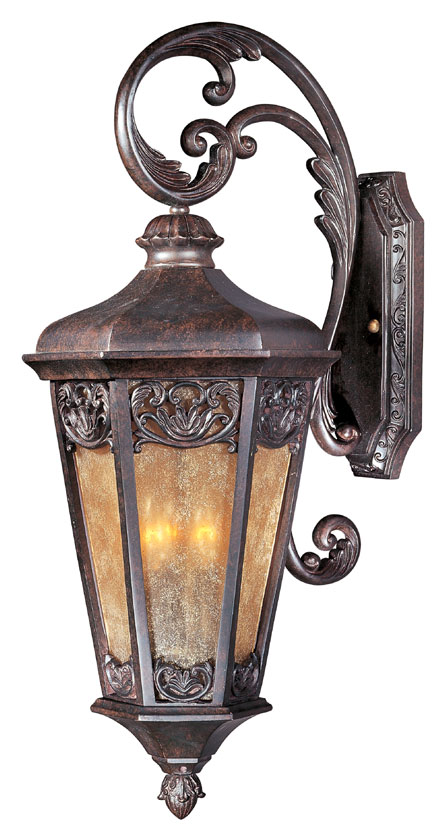 Maxim 40174nscu lexington vx traditional colonial umber 11 for Outdoor colonial lighting