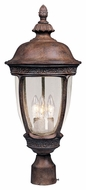 Maxim 40460CDSE Knob Hill VX Traditional Sienna 22.5  Tall Outdoor Post Lighting Fixture