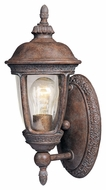 Maxim 40462CDSE Knob Hill VX Traditional Sienna 14  Tall Outdoor Wall Lighting Sconce