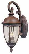 Maxim 40464CDSE Knob Hill VX Traditional Sienna 8  Wide Exterior Wall Sconce Lighting