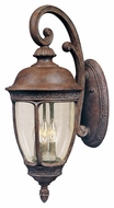 Maxim 40466CDSE Knob Hill VX Traditional Sienna 13  Wide Exterior Wall Light Sconce