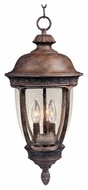 Maxim 40467CDSE Knob Hill VX Traditional Sienna 22  Tall Outdoor Drop Lighting Fixture