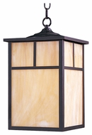 Maxim 4058HOBU Coldwater Craftsman Burnished 9  Wide Exterior Pendant Lighting