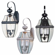 Maxim 4192CL South Park 23 Tall Outdoor Lighting Wall Sconce