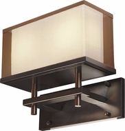 Maxim 43441CSOI Hennesy Modern Oil Rubbed Bronze LED Wall Light Fixture