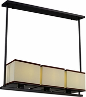 Maxim 43813LNDBZ Tribeca Contemporary Dark Bronze LED Island Lighting