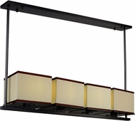 Maxim 43814LNDBZ Tribeca Modern Dark Bronze LED Kitchen Island Lighting