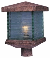 Maxim 48735CLET Triumph VX Earth Tone 10  Wide Exterior Light Post Lighting
