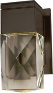Maxim 53487BCMB Holmby Hills Metallic Bronze LED Outdoor Wall Sconce Lighting