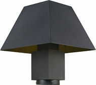 Maxim 53510BK Pavilion Black LED Outdoor Lamp Post Light