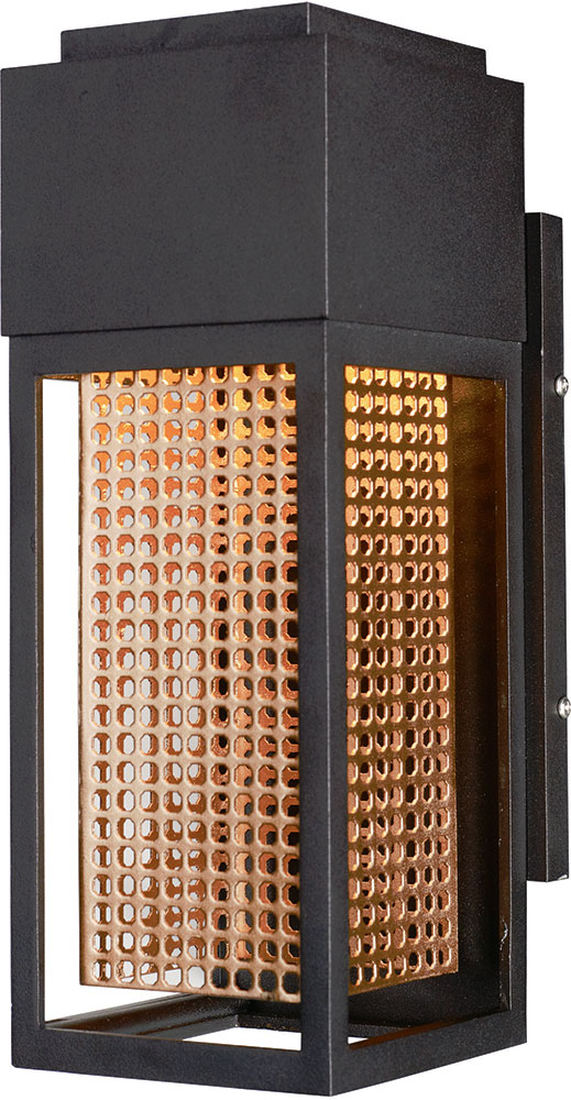 Maxim 53597GBZRG Townhouse Contemporary Galaxy Bronze / Rose Gold LED Outdoor  Lighting Wall Sconce. Loading Zoom