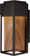 Maxim 53599GBZRG Townhouse Contemporary Galaxy Bronze / Rose Gold LED Outdoor Wall Sconce Lighting