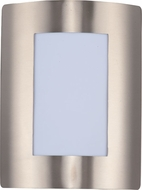 Maxim 54322WTSST View EE Modern Stainless Steel Exterior Sconce Lighting