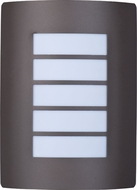 Maxim 54331WTBZ View LED Contemporary Bronze LED Outdoor Light Sconce