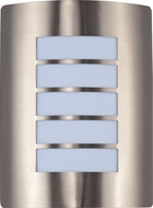 Maxim 54331WTSST View LED Modern Stainless Steel LED Exterior Lighting Sconce