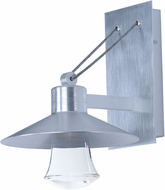 Maxim 54360CLAL Civic Brushed Aluminum LED Outdoor Lamp Sconce
