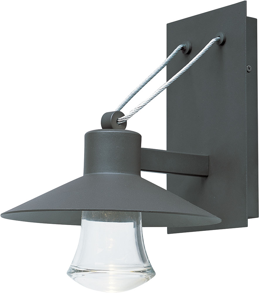 Maxim 54362clabz civic contemporary architectural bronze for Outdoor sconce lighting fixtures