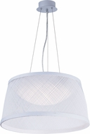 Maxim 54374WT Bahama Modern White LED 20  Ceiling Pendant Light