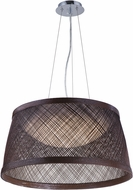 Maxim 54376CH Bahama Contemporary Chocolate LED 24  Drop Ceiling Light Fixture