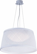Maxim 54376WT Bahama Contemporary White LED 24  Pendant Lighting