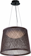 Maxim 54378CH Bahama Modern Chocolate LED 24  Pendant Light
