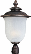 Maxim 55191FCCH Cambria LED Traditional Chocolate Exterior Pole Lighting Fixture