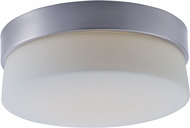 Maxim 55562SWSS Flux Satin Silver LED 9  Overhead Lighting Fixture