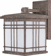 Maxim 55693FSET Sienna LED Craftsman Earth Tone Exterior Wall Mounted Lamp