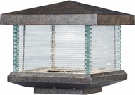 Maxim 55736CLET Triumph VX Contemporary Earth Tone LED Outdoor Pier Mount