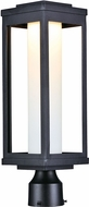 Maxim 55900SWBK Salon LED Modern Black LED Outdoor Post Light Fixture
