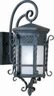 Maxim 56325FSCF Scottsdale Modern Country Forge LED Exterior Wall Lamp