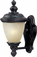 Maxim 56525MOOB Carriage House Contemporary Oriental Bronze LED Outdoor Light Sconce
