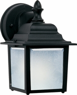 Maxim 56924BK Side Door LED Black Exterior Wall Lighting Fixture