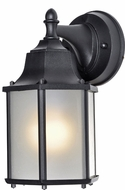 Maxim 56926BK Side Door LED Black Exterior Wall Lamp