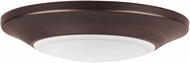 Maxim 57625WTBZ Diverse Modern Bronze LED Indoor / Outdoor 7.5  Ceiling Light