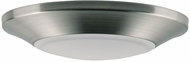 Maxim 57627WTSN Diverse Contemporary Satin Nickel LED Interior / Exterior 7.5  Ceiling Light Fixture