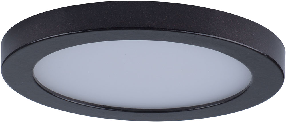 Maxim 57710WTBZ Wafer LED Contemporary Bronze LED Exterior Flush ...