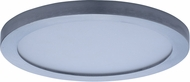 Maxim 57712WTSN Wafer LED Contemporary Satin Nickel LED Exterior Home Ceiling Lighting