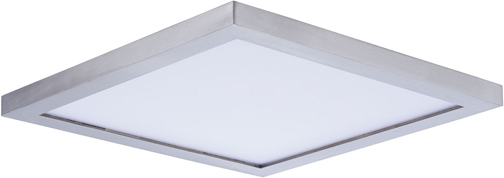 Maxim 57724WTSN Wafer LED Contemporary Satin Nickel LED Exterior ...