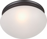 Maxim 5885FTOI Essentials - 588x Oil Rubbed Bronze Flush Mount Lighting
