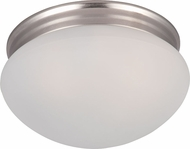 Maxim 5885FTSN Essentials - 588x Satin Nickel Overhead Lighting