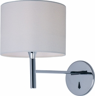 Maxim 60130WAPC Hotel Modern Polished Chrome LED Lighting Wall Sconce